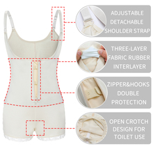 Latex Full Body shaper