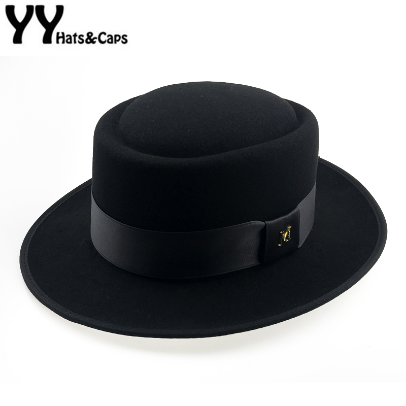 Detail Feedback Questions about 60cm Fedora Men Autumn Felt Pork Pie  Crushable Hat BREAKING BAD Hat Walter Winter Retro Fedora hat Classic  Church Trilby ... 631e3194fbb4