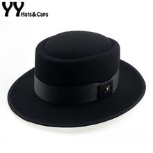 60cm fedora masculino outono sentiu torta de porco chapéu crushable quebrando mau chapéu walter inverno retro chapéu fedora clássico igreja trilby yy18110