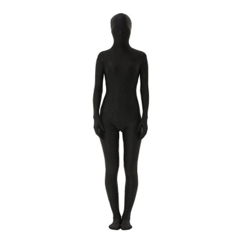 Quality Ninja Invisible Man Or Woman Costumes Halloween COS Masquerade Invisibility Cloaks Nocturnal Tights Invisible Stage Wear