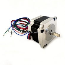 NEMA23 Stepping Motor 23HS2004S 23HS2004B 23HS2004SD8 0.55N.m 41 mm Length 2.4 V 1.8 degree single or dual or 8 mm shaft Stepper 57mm planetary gearbox geared stepper motor ratio 10 1 nema23 l 56mm 3a