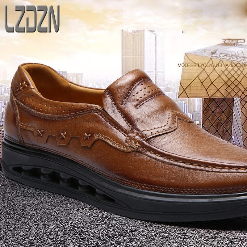 2017 new men 39 s business casual shoes middle aged men 39 s shoes autumn dads older people autumn shoes increased in Men 39 s Casual Shoes from Shoes
