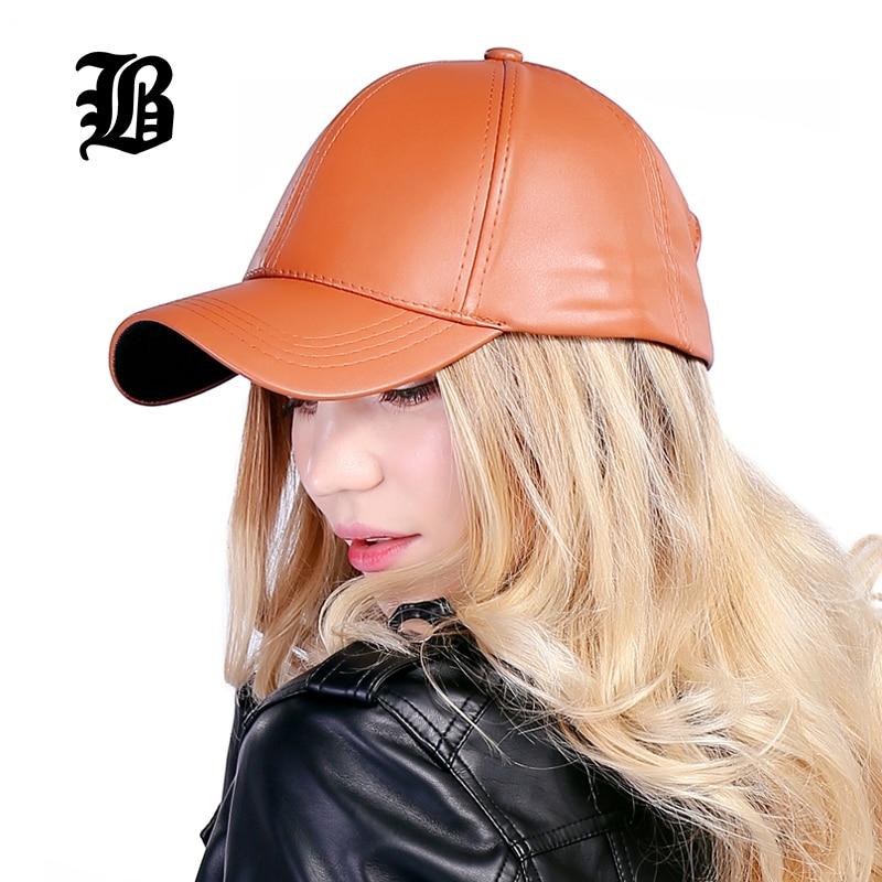 [FLB] Partihandel Ny Vinter PU Läder Kepsar Baseball Cap Biker - Kläder tillbehör - Foto 2