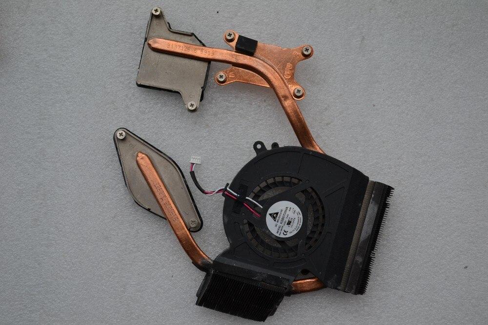 Nouveau ventilateur de refroidissement de processeur pour ordinateur portable avec dissipateur thermique pour SAMSUNG R530 P530 DC BRUSHLESS KSB0705HA DC5V 0.40A