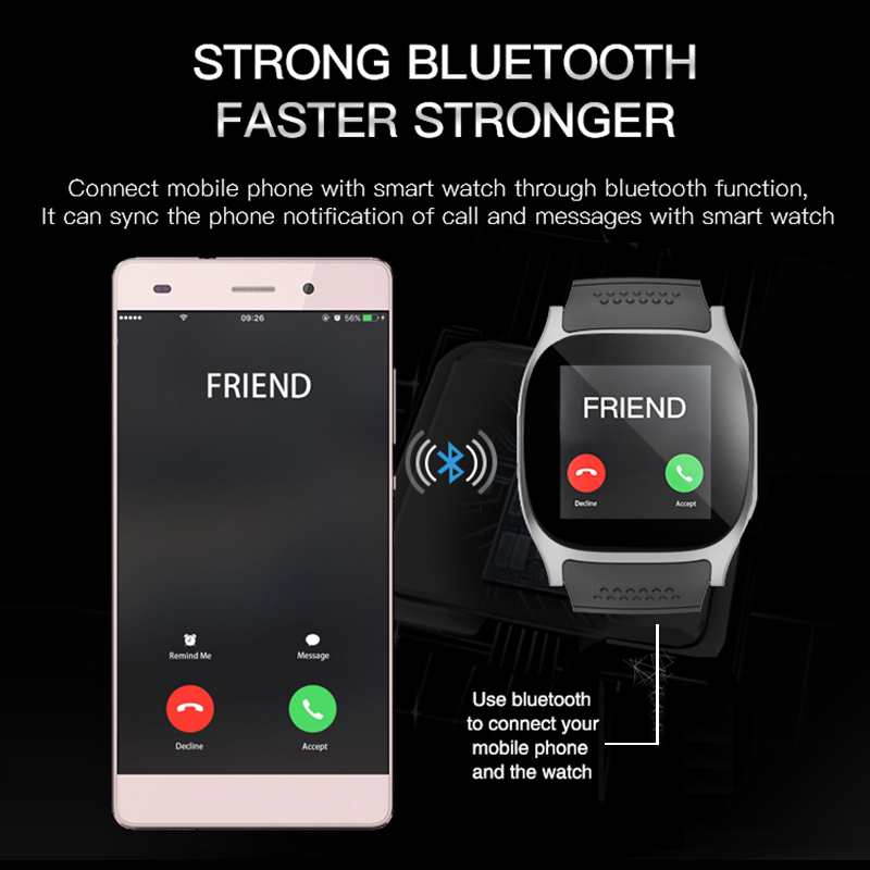 Image 4 - Newest Smart Watch Bluetooth Android Watches Fitness Tracker Wristwatch Smartwatch  for Android Mobile Phones Wearable Devices-in Smart Watches from Consumer Electronics