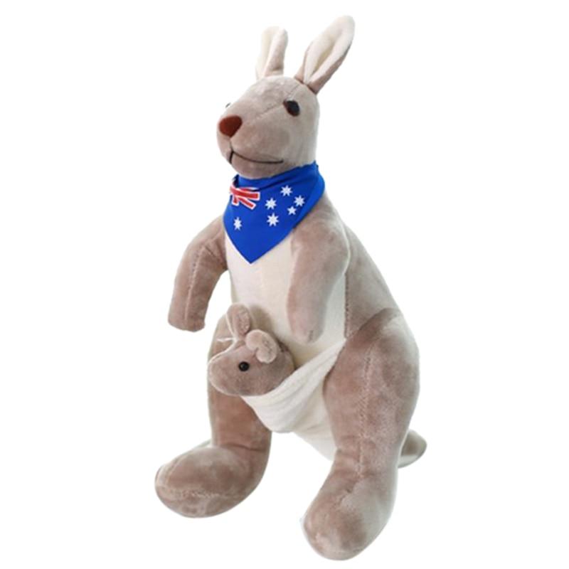 Sweet Kangaroo Stuffed Animal რბილი - პლუშები სათამაშოები - ფოტო 4