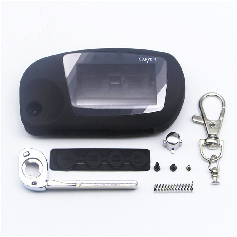 New Arrival Case For Scher-Khan Magicar 5 6 Uncut Blade Fob Case Cover M5 M6 Folding Car Flip Remote +Keychain Glass