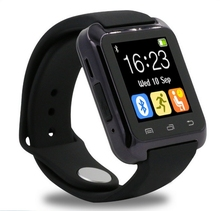 Smartwatch bluetooth smart watch u80 para iphone ios android teléfono desgaste reloj usable dispositivo smartwach pk u8 gt08 dz09 relojes