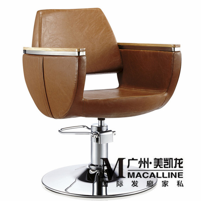 Manufacturers selling European hairdressing chair, barber chair high-class european-style. Chair hair sell like hot cakes