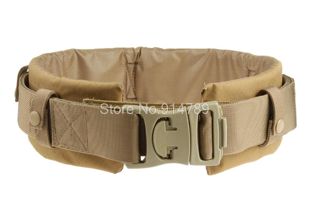 TACTICAL HUNTING DUTY BELT WITH WAIST PROTECTION PAD MUD-35102