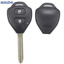 Maizhi 2 Пуговицы uncut ЗАМЕНА Ключи В виде ракушки для Toyota Corolla RAV4 TOY43 лезвие Оболочки автомобиль-Стайлинг
