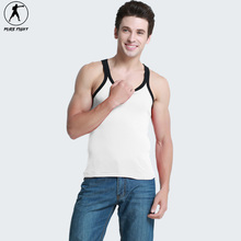 2016 Gymnastics Bodybuilding And Fitness Man Running Vest tops Gold's Gym Running Man Slim