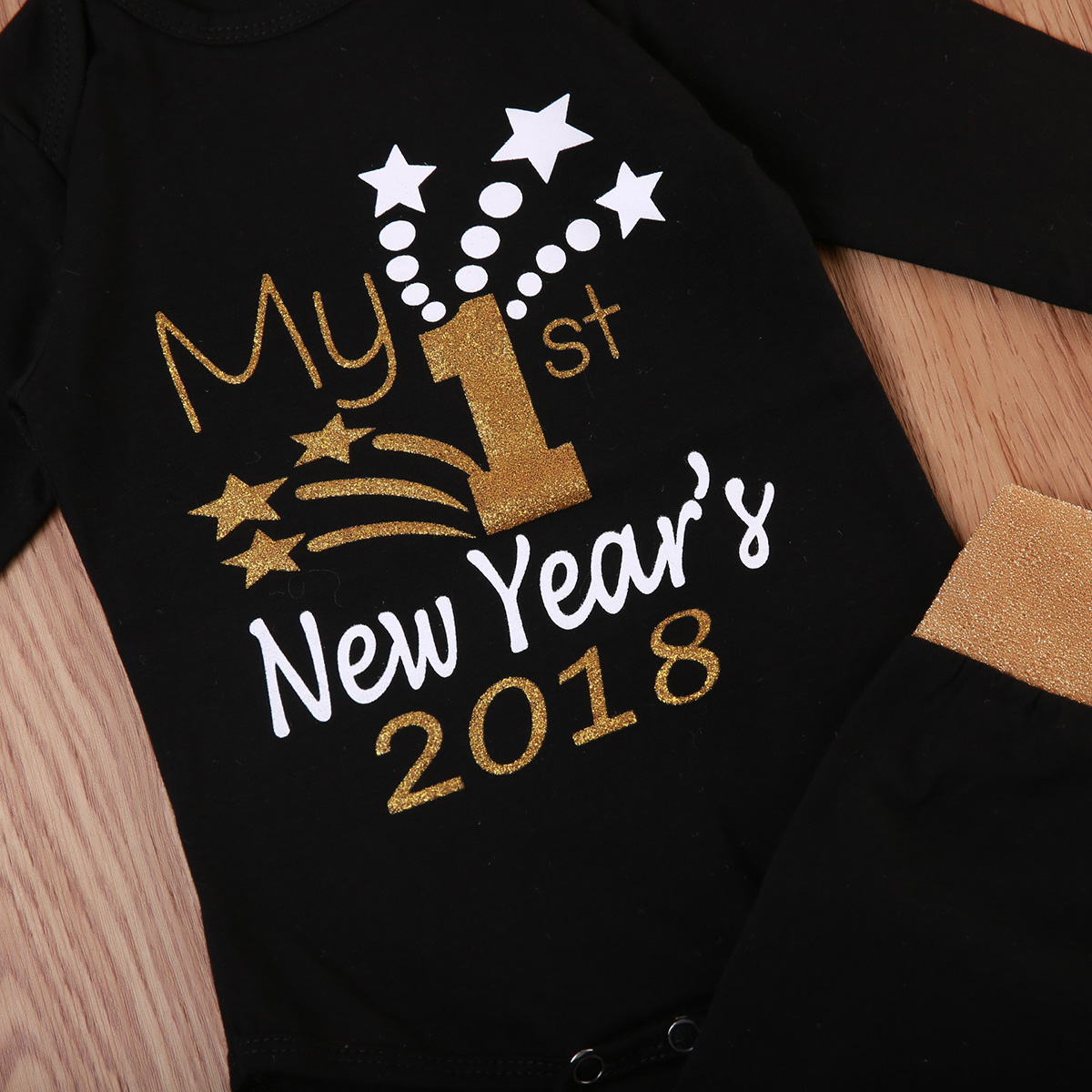 Pudcoco New Christmas Baby Suit Toddler Baby Boy Girls Letter Romper Infant Girls Sequins Pants Cute Hats Outfits Clothes 0-12M