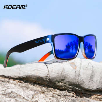 KDEAM Revamp Of Sport Men Sunglasses Polarized Shockingly Colors Sun Glasses Outdoor Driving Photochromic Sunglass With Box 2