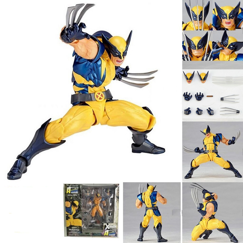 Toys Collectible-Model Action-Figure Wolverine-Series X-MEN No PVC Gift Complex