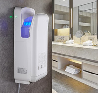 Automatic Sensor Hand Dryer Electric Fast Hand Dryer Jet Air Hand Dryer Bathroom Hand Dryers