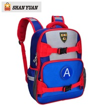 New LED Flashing Captain America Children Backpacks Kids School Bags for Teenagers Boys Girls Schoolbag Mochila Infantis Escolar