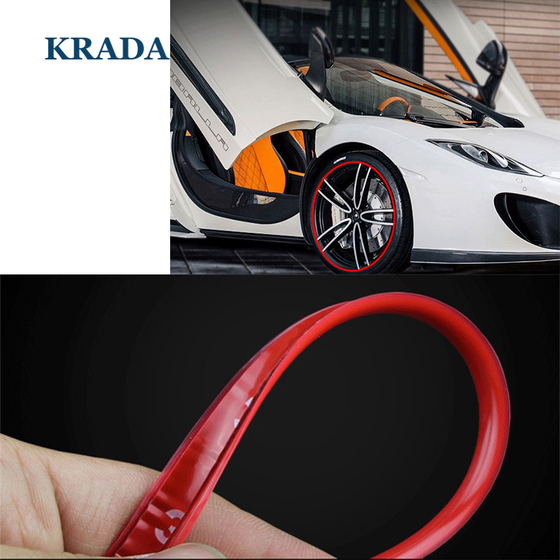 Car Styling Stickers Wheel Trim Decorative for mercedes benz amg w204 cla amg w204 w203 w211 w205 w124 w205 w210 glk gla mazda