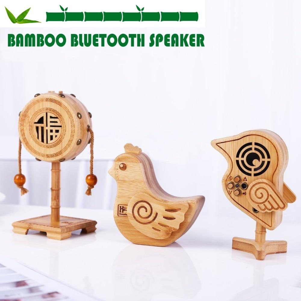 High Quality Creative Bamboo Cartoon Shape Speaker,Bluetooth Audio Playback, Support Hands-Free Calls