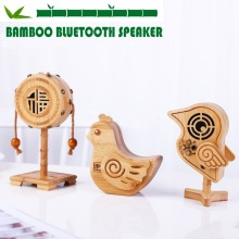 High Quality Creative Bamboo Cartoon Shape Speaker,Bluetooth audio playback, support hands-free calls