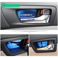 Lsrtw2017 нержавеющая сталь внутри автомобиля дверь чаша планки для toyota camry 2012 2013 2014 2015 2016 2017 xv50