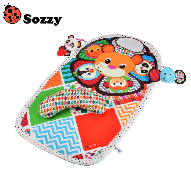 O mais novo Jogo Da Primeira Infância Sozzy Sozzy Panda Esteiras Pad Urina À Prova D' Água Almofadas de Tapete Infantil Apaziguar Brinquedo de Alta Qualidade