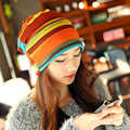 HOT 2 Use Cap Knitted Scarf & Winter Hats for Women Letter Beanies Women Hip-hot Skullies girls Gorros women Beanies