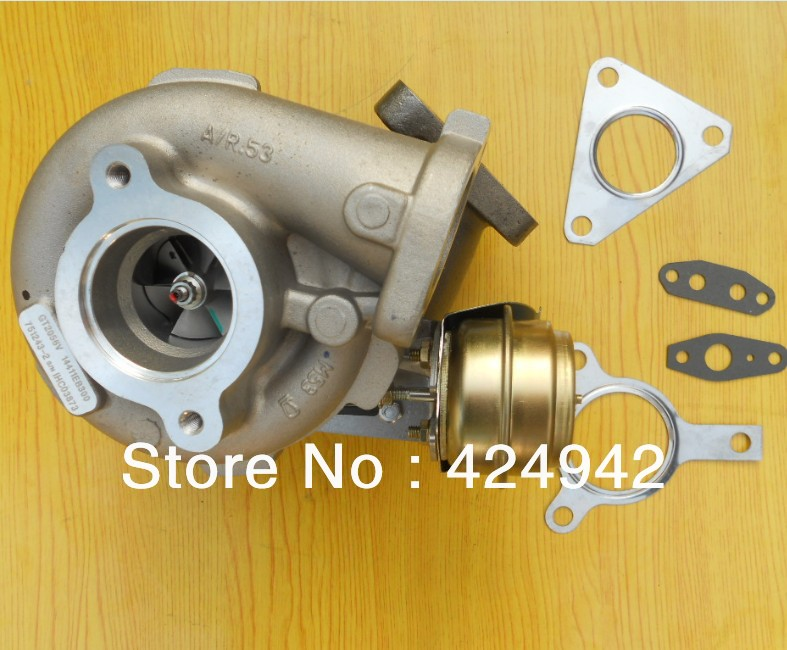 <font><b>GT2056V</b></font> 751243 751243-5002S 14411-EB300 14411EB300 turbo turbocharger for Nissan Navara Pathfinder 2.5DI QW25 (D40) image