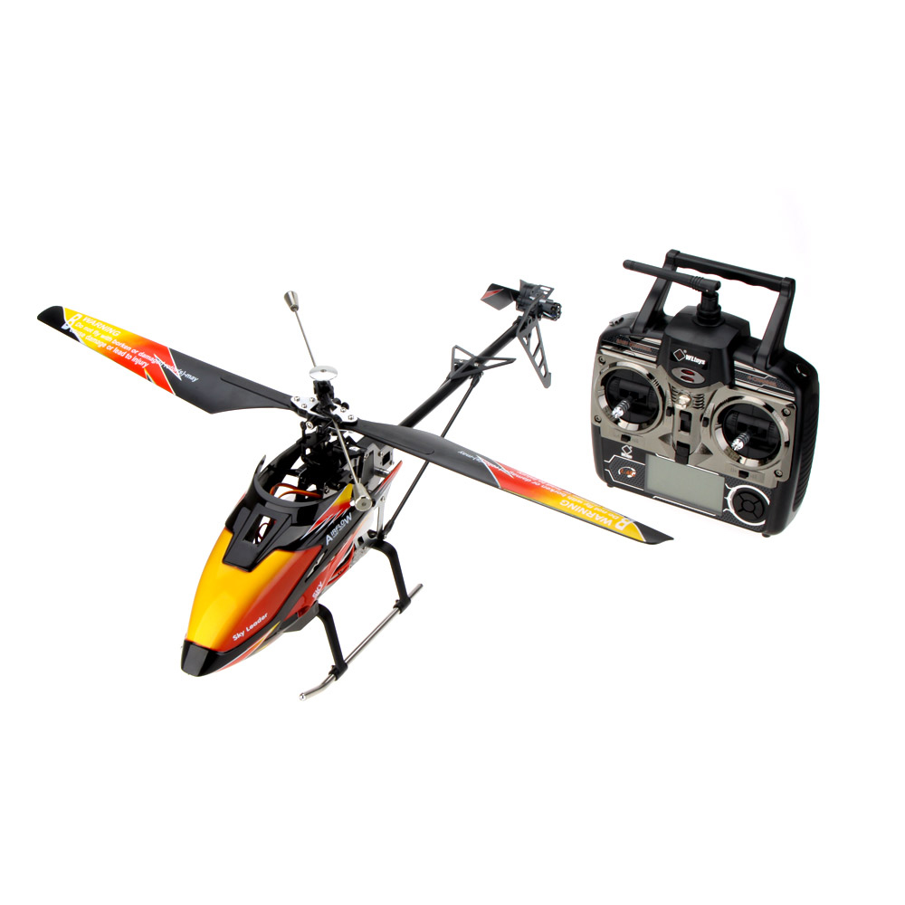 ФОТО Original WLtoys V913 Brushless Upgrade Version 4Ch Helicopter RTF 70cm 2.4GHz Built-in Gyro Super Stable Flight Aircraft