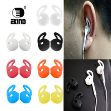 4Pairs/8pieces Silicone Cover Earbuds Earphone Case for Apple iphone X 8 7 6 Plus 5 Earpods
