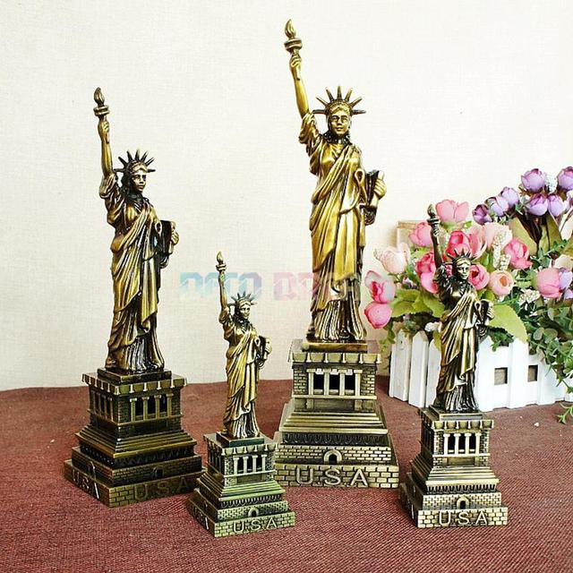 Deco Dream Vintage Home And Garden Decoration Metal Statue Of Liberty American Modern Style Craft As Good Hobby Gift For Familys 3