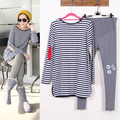 SL-27 Maternity Suits Pregnant Striped Shirt + Leggings/Pants Long Sleeved T-shirt Set for Women Clothing Spring/Autumn/Winter