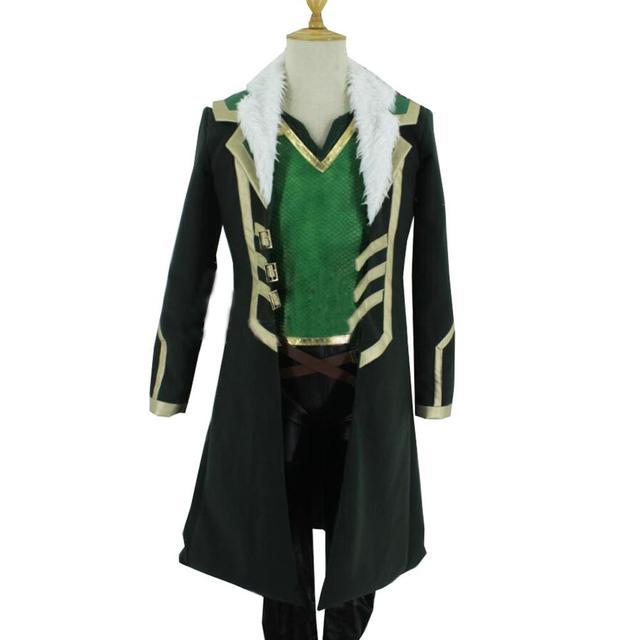 Details about  /Hot Loki Asgard Agent Cosplay Loki Jacket Uniform Jacket Costume    NN029