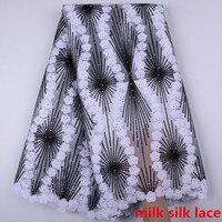 Французский нигерийский кружево ткань Высокое качество Африканский кружевной материал для свадьбы Африканский французский тюль для плать...