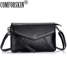 COMFORSKIN Women Bag 2018 New Arrivals 100% Genuine Leather Fashion Style Feminine Designer Messenger Bags Bolsos Mujer