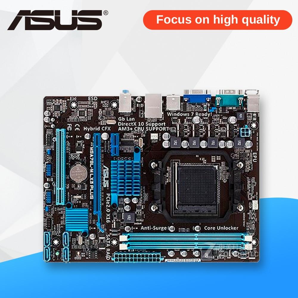 Asus M5A78L-M LX3 PLUS De Bureau Carte Mère 760G Socket AM3 + DDR3 16G SATA2 USB2.0 Micro ATX