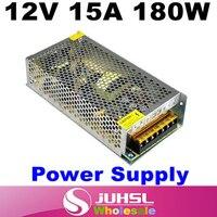 12 V 15A 180 W החלפת ספק כוח שנאי אור רצועת מתאם 12 v, מתאם מתח, רצועת אור, מנורת מאמר