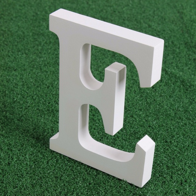 New 15cm Modern Home Decor Letters Alphabet A To Z Wooden Wall Decor