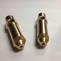 1 3mm Fuel Nozzle Siphon Air Atomizing Nozzle Two Fluid Nozzle Diesel Heavy Oil Waste Oil