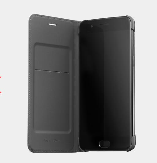 <font><b>Original</b></font> Case For <font><b>oneplus</b></font> 5 <font><b>Flip</b></font> <font><b>cover</b></font> Leather case Black Gray color With Wallet Slot card Oneplus5 back <font><b>cover</b></font> image