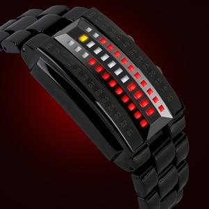 Image 5 - SKMEI Men Women Lovers Sport Digital Watch Fashion Couple Clock Watches Top Brand Luxury Alloy Strap Man Woman reloj hombre 1013