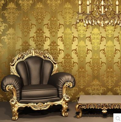 European Luxurious Reflective Gillter Gold Foil Wallpaper For Living Room Bedding Room TV Walls Modern Silver Wall Paper Roll