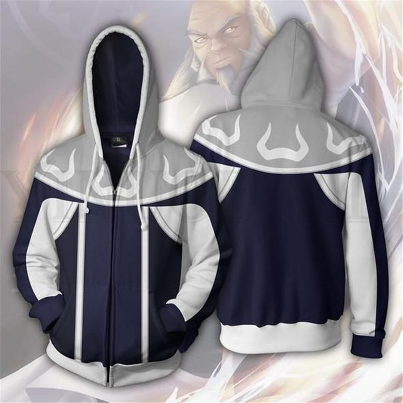 Streetwear Men and Women Zipper Hoodies Avatar Airbender 3d Print Hooded Jacket for Boys Harajuku Sweatshirt Cosplay in Hoodies amp Sweatshirts from Men 39 s Clothing