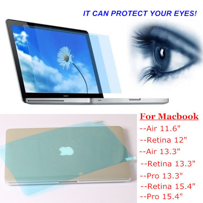 Anti Blau Licht Screen Protector Film Schutz Für Macbook Air 13 Neue 2018 Retina Pro 13 15 A1466 A1990 A1932 Schutz Protector