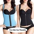 Trainer cintura zipper quente para as mulheres da cintura cincher body shaper slimming belt cintura shaper corsets whoelsale sob busto colete