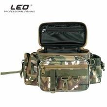 Multi-functional Fishing Bag Tackle Reel Storage Case Waist Shoulder