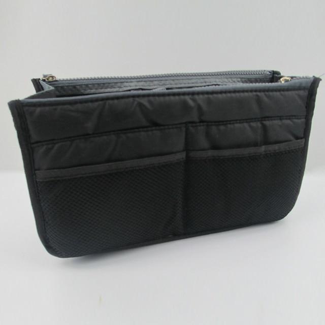 Organizer Insert Bag Women Nylon Travel Makeup Cosmetic Handbag Tote 4