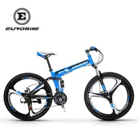 EUROBIKE 26 INCH 21 SPEED SUSPENSION FOLDING BIKE WITH SUSPENSION FORK