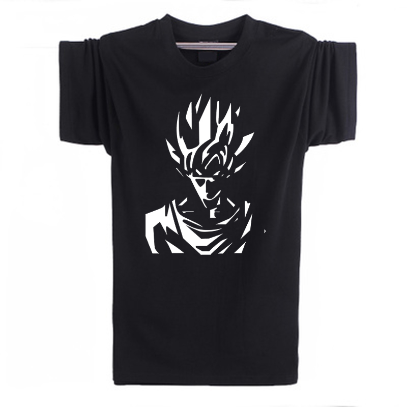2016 fashion Summer Dragonball Camisetas Japanese Anime Goku Dragon Ball men t shirt 100% cotton Short Sleeve Tshirts Tops Tees