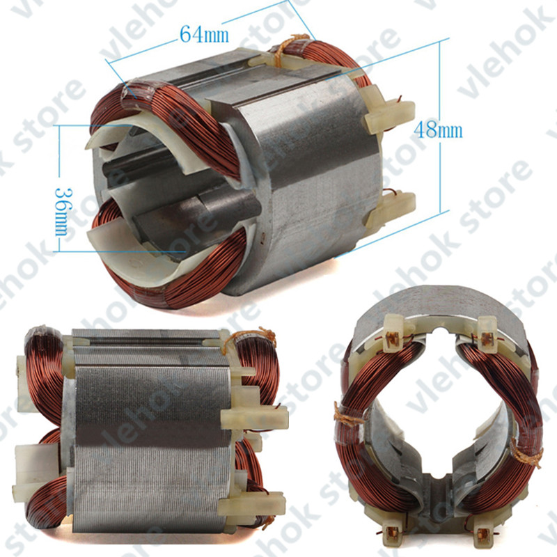 Stator Field Replace For MAKITA 628181-4 626579-9 HR2470T HR2470CAP HR2470A HR2470 HR2460 Electric Hammer Drill Tools
